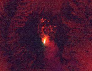 Infrarotaufnahme der NASA vom Mount St. Helens
